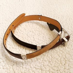 Brighton NWT western horsehair belt size medium 30